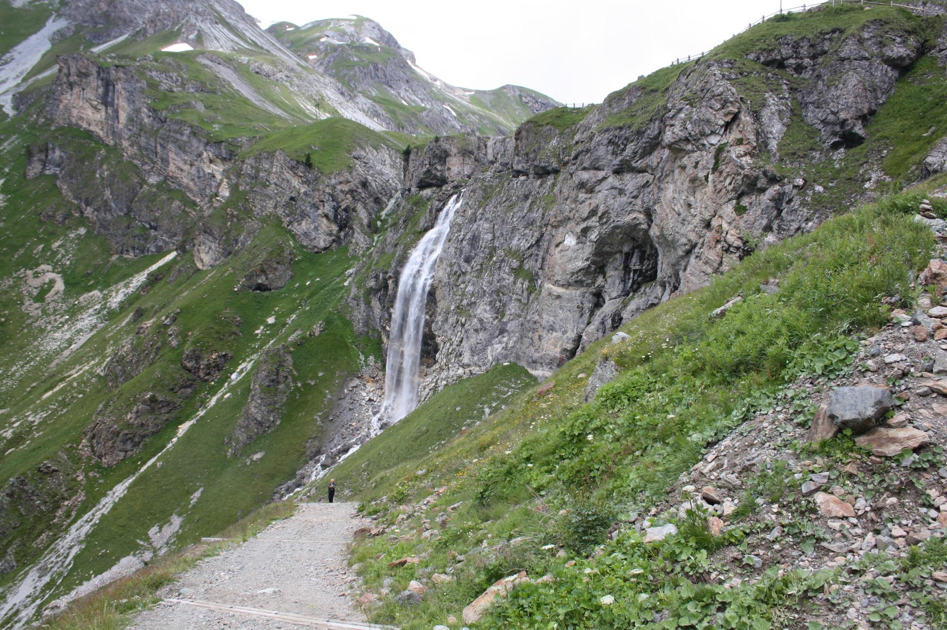 Wasserfall an der Schwarzwand