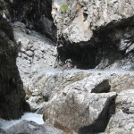 Das obere Ende des Felsenweges