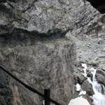 Blick auf den Felsenweg